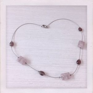 Silpada Amethyst and Wire Necklace